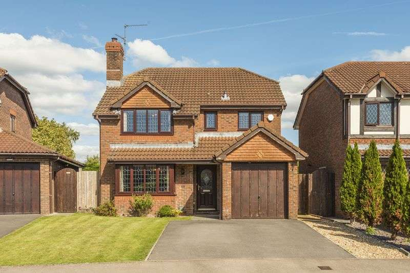 4 Bedrooms Detached House for sale in The Shires, Cardiff