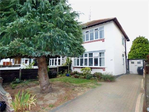 3 Bedrooms Semi Detached House for sale in Exford Avenue, Westcliff on sea, SS0 0DZ