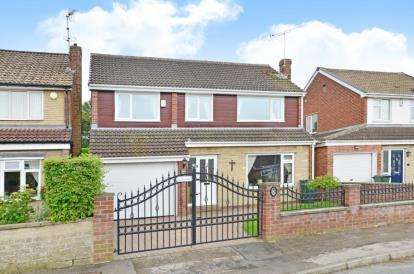 5 Bedrooms Detached House for sale in Manor Way, Todwick, Sheffield, South Yorkshire