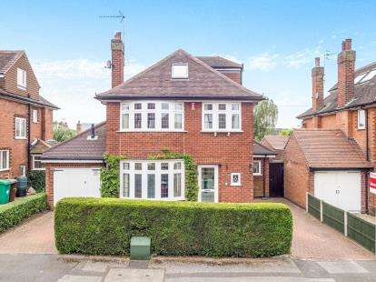 4 Bedrooms Detached House for sale in Bramcote Drive, Wollaton, Nottingham, Nottinghamshire