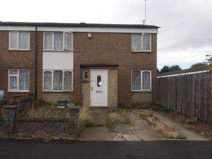 3 Bedrooms End Of Terrace House for sale in Eden Close, Birmingham, West Midlands