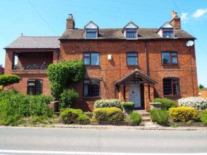 4 Bedrooms Detached House for sale in Burton Road, Elford, Tamworth, Staffordshire