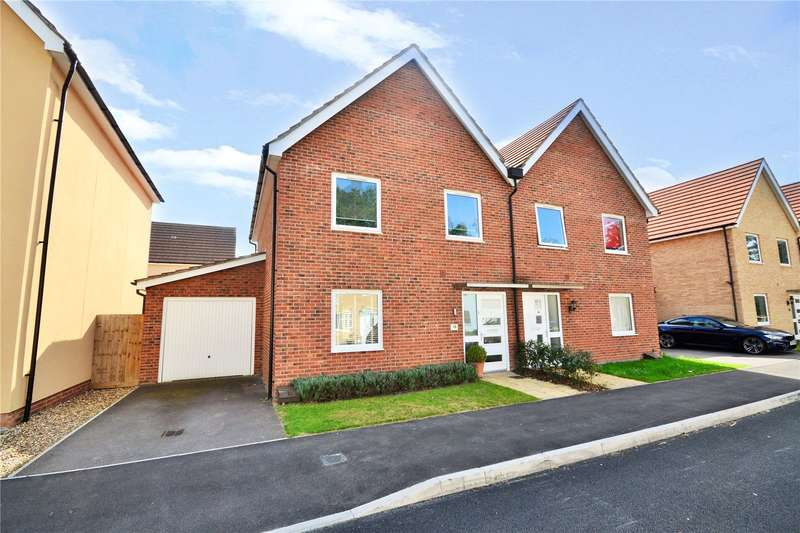 3 Bedrooms Semi Detached House for sale in Mills Chase, Bracknell, Berkshire, RG12