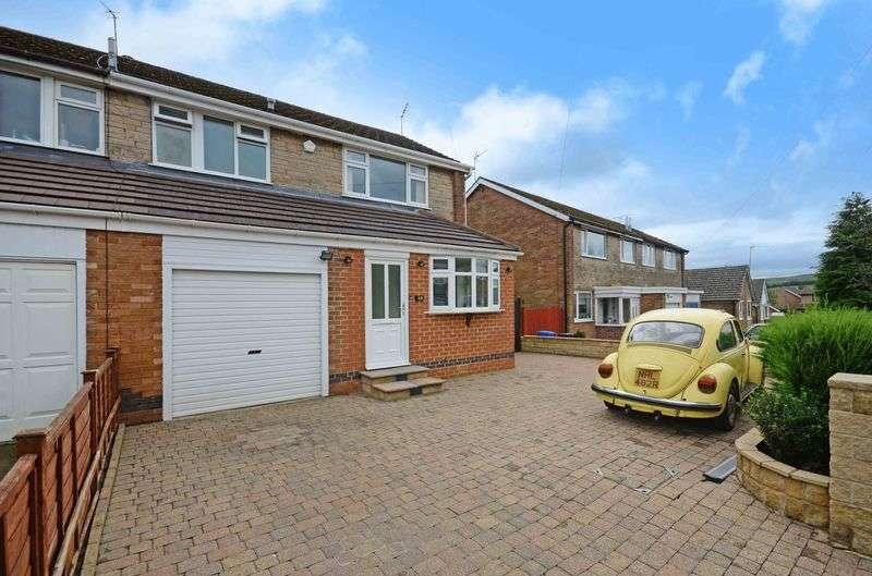 3 Bedrooms Semi Detached House for sale in Worcester Drive, Lodge Moor, Sheffield, S10 4JG