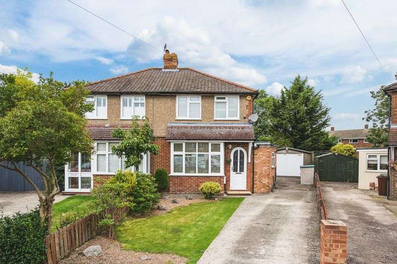 2 Bedrooms Semi Detached House for sale in Abbey Road, Aylesbury