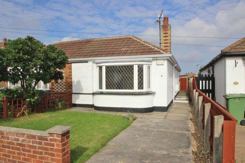 2 Bedrooms Semi Detached Bungalow for sale in REVESBY AVENUE, GRIMSBY
