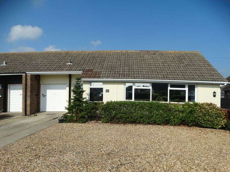2 Bedrooms Semi Detached Bungalow for sale in Langton Close, Chichester