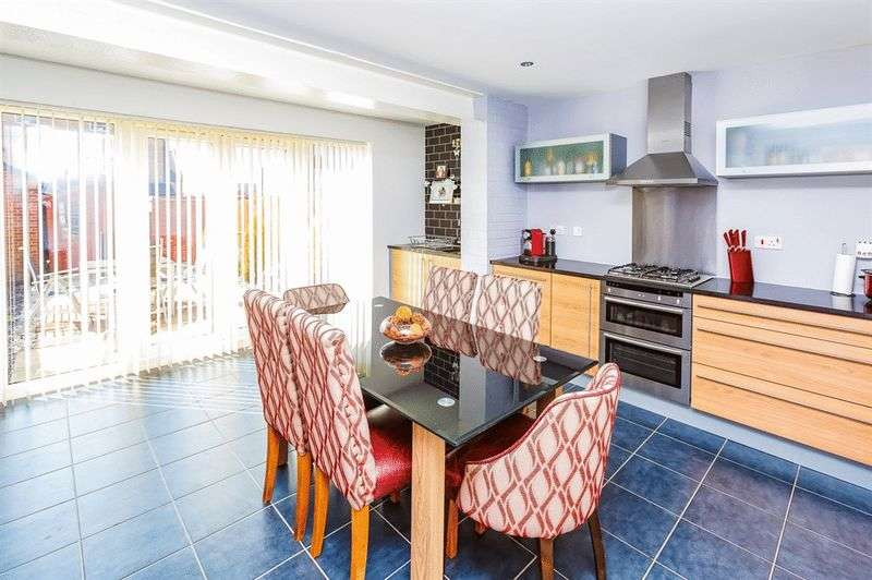 4 Bedrooms Terraced House for sale in Parkin Court, RAVENFIELD