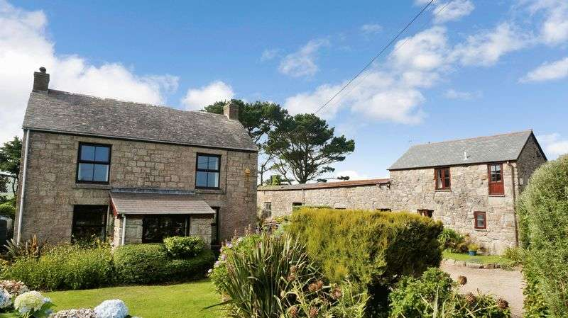 4 Bedrooms Detached House for sale in Sancreed, Penzance