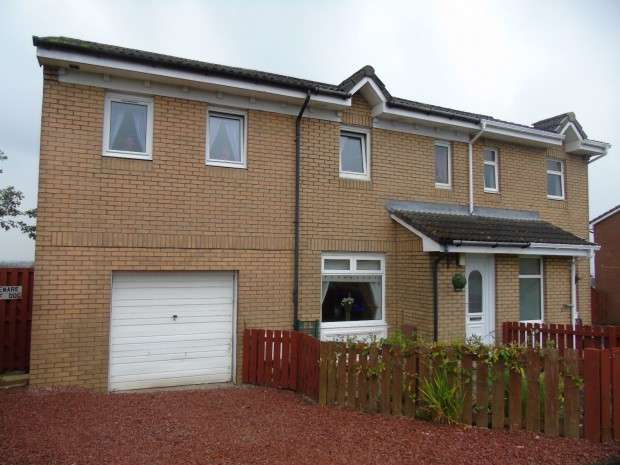 4 Bedrooms Semi Detached House for sale in Strathpeffer Crescent, The Rushes, Airdrie, Airdrie, ML6