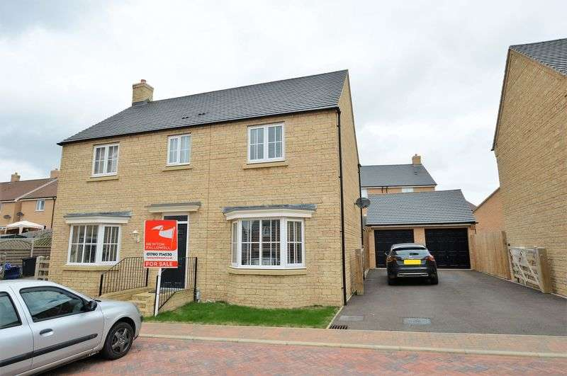4 Bedrooms Detached House for sale in Oak Lane, Kings Cliffe