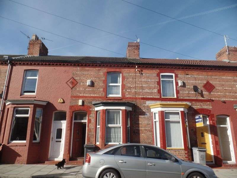 2 Bedrooms House for sale in 42 Oriel Road, Birkenhead - For sale by auction 26th October 2016