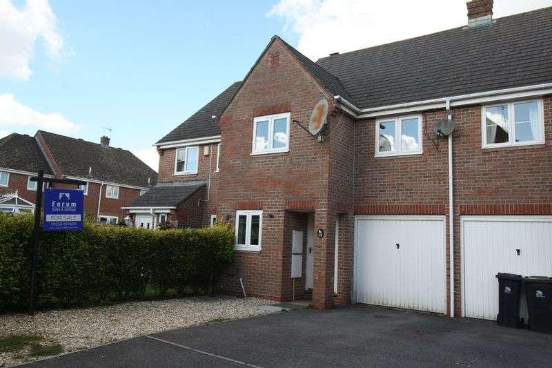 3 Bedrooms Terraced House for sale in Southover Close, Blandford St. Mary