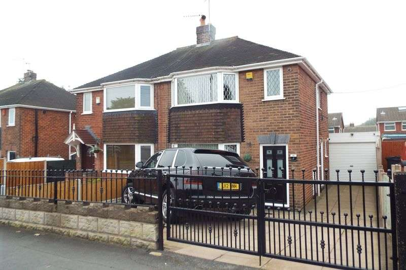 2 Bedrooms Semi Detached House for sale in Riceyman Road, Bradwell, Newcastle-under-Lyme