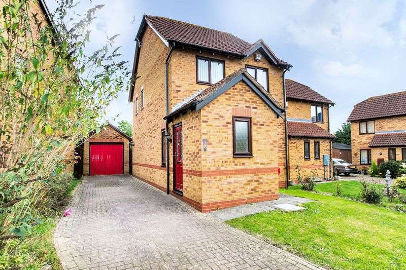 3 Bedrooms Semi Detached House for sale in Mithras Gardens, Wavendon Gate, Milton Keynes