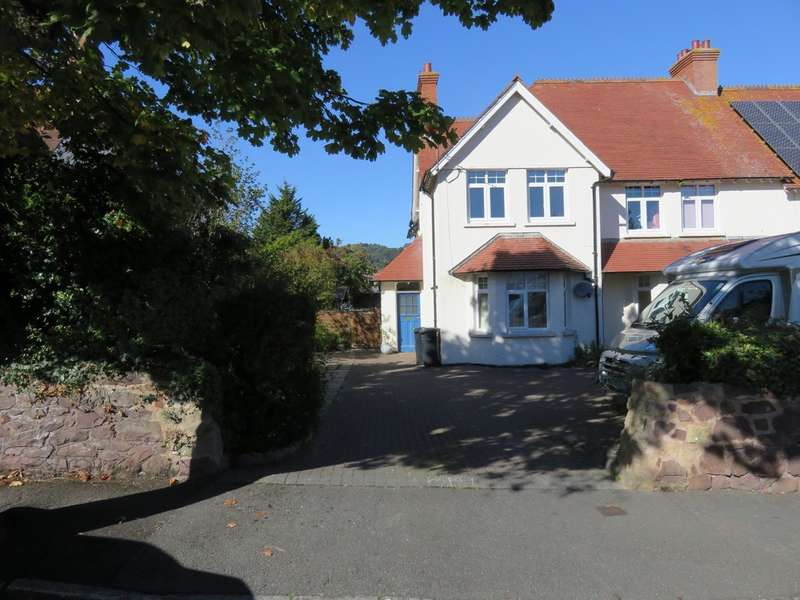 2 Bedrooms Ground Flat for sale in Minehead , Somerset