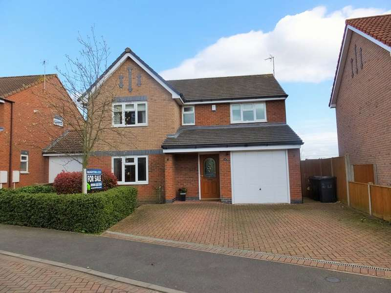 4 Bedrooms Detached House for sale in Church Ponds Close, Ratby, Leicestershire