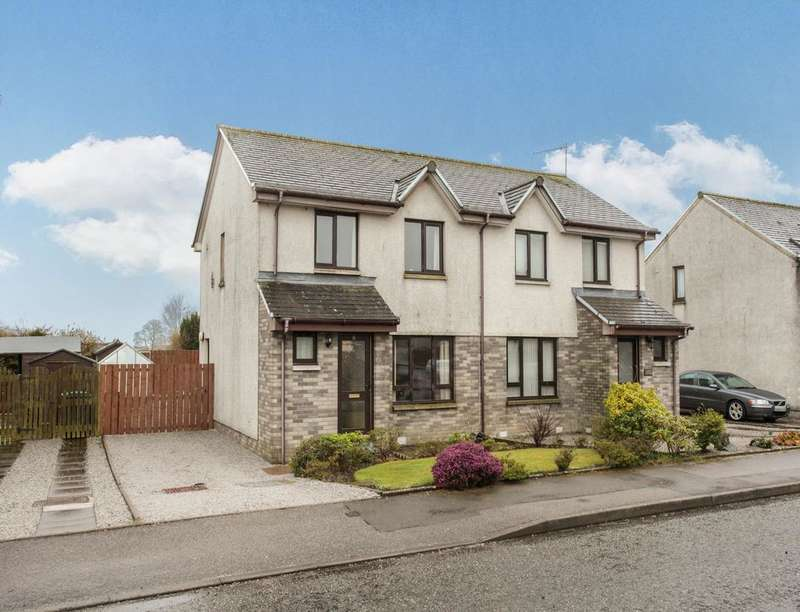 3 Bedrooms Semi Detached House for sale in Cameronian Place, Springholm, Castle Douglas, DG7