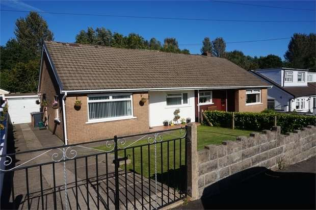 2 Bedrooms Semi Detached Bungalow for sale in Elim Way, Pontllanfriath, Caerphilly
