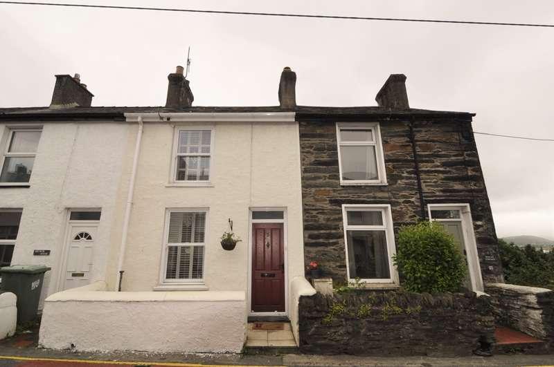 1 Bedroom Terraced House for sale in Penlan Terrace, Penrhyndeudraeth, Gwynedd, LL48