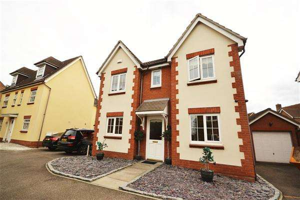 4 Bedrooms Detached House for sale in Carew Close, Chafford Hundred