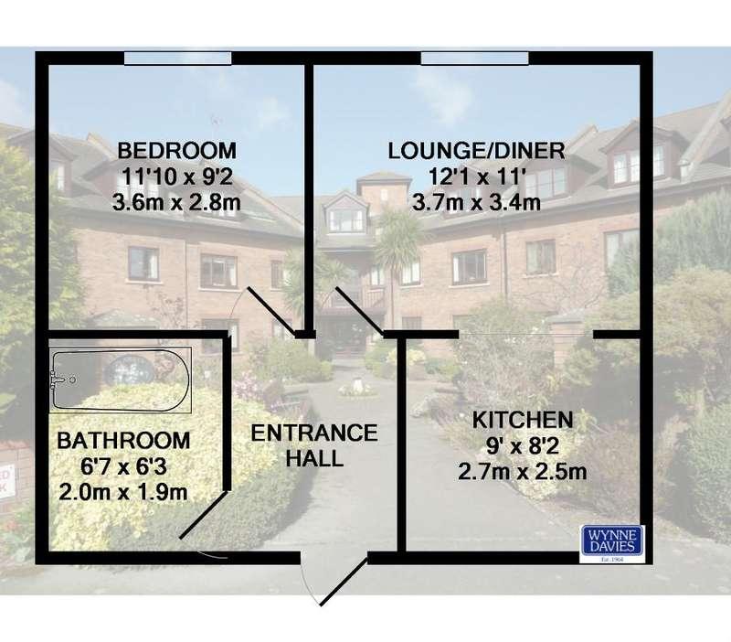 1 Bedroom Flat for sale in Penrhyn Court, Plas Penrhyn, Penrhyn Bay, Conwy, LL30 3EJ