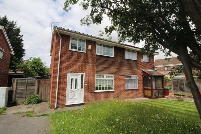 3 Bedrooms Semi Detached House for sale in Cringles Drive, Tarbock Green, Prescot, L35