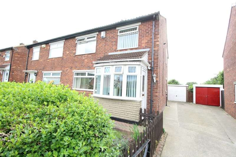 3 Bedrooms Semi Detached House for sale in Churchill Road, Middlesbrough, TS6