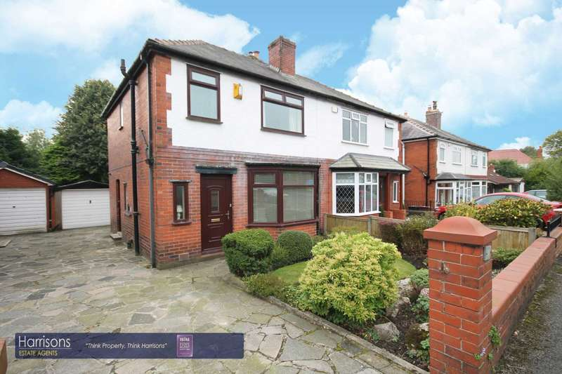3 Bedrooms Semi Detached House for sale in Verdure Avenue, Heaton, Bolton, Lancashire.