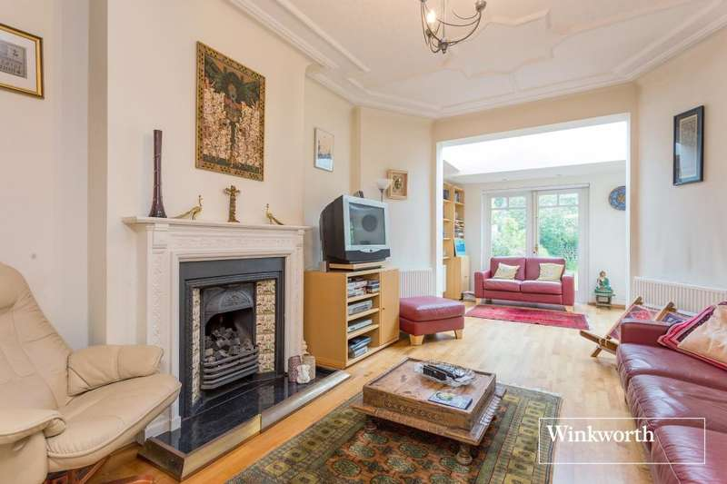 5 Bedrooms Semi Detached House for sale in Manor View, Finchley, London, N3