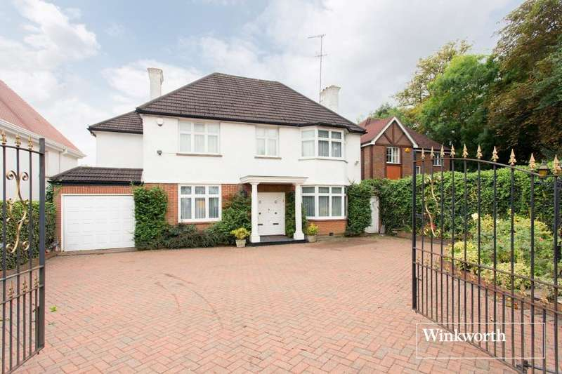 4 Bedrooms Detached House for sale in Totteridge Lane, Totteridge, London, N20