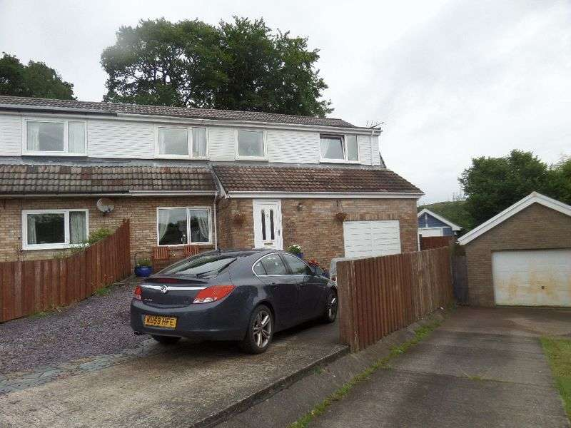5 Bedrooms Semi Detached House for sale in Heol Pen-y-Foel, Coed y Cwm, Pontypridd, CF37 3DJ
