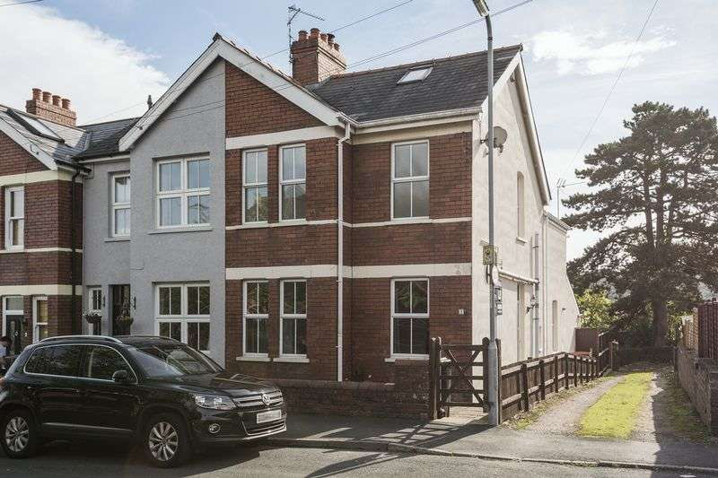 3 Bedrooms Terraced House for sale in Uskvale Drive, Newport
