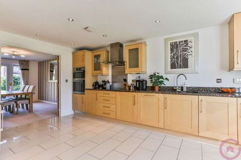 4 Bedrooms Detached House for sale in Rhapsody Court, Cheltenham