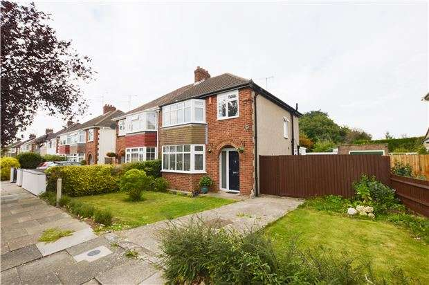 3 Bedrooms Semi Detached House for sale in Brooklyn Gardens, CHELTENHAM, Gloucestershire, GL51 8LW
