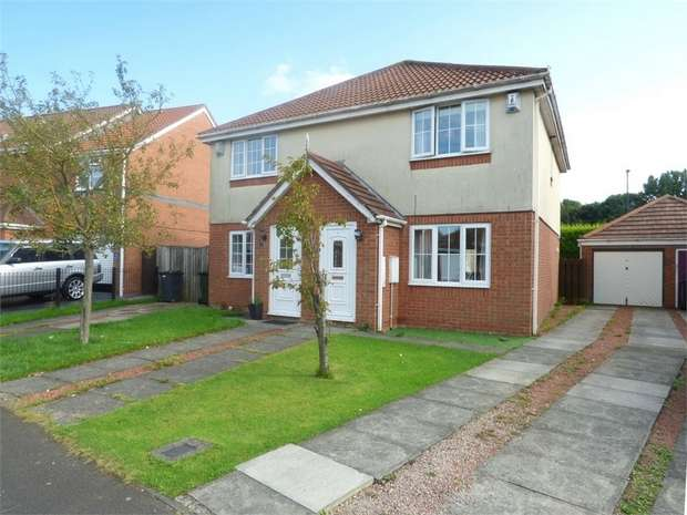 2 Bedrooms Semi Detached House for sale in Thirlmere Close, Killingworth, Newcastle upon Tyne, Tyne and Wear