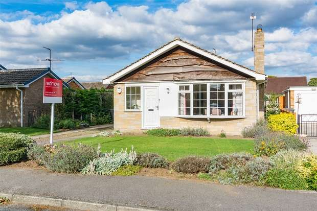 2 Bedrooms Detached Bungalow for sale in Deerstone Way, Dunnington, YORK