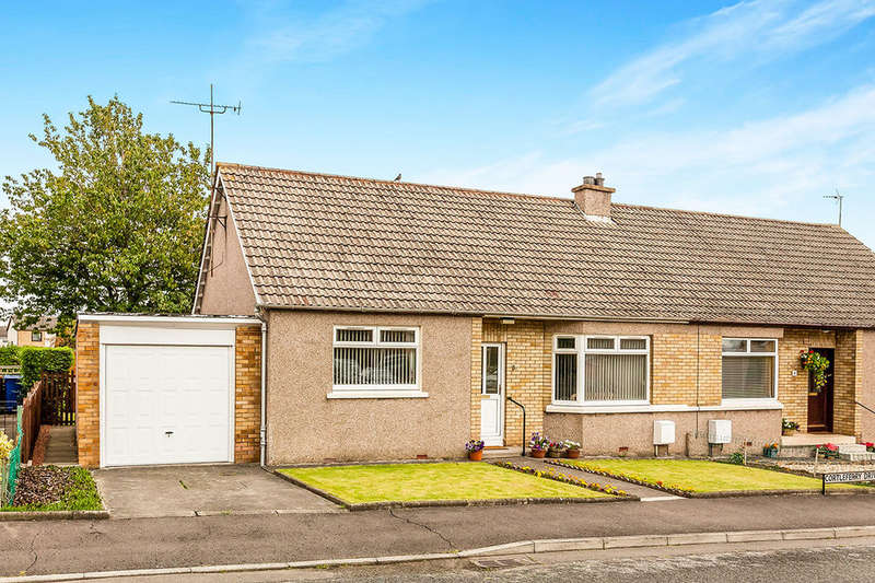 2 Bedrooms Semi Detached Bungalow for sale in Cortleferry Drive, Dalkeith, EH22