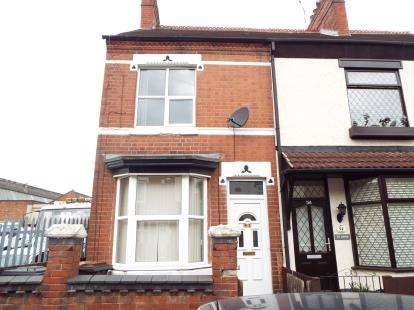 2 Bedrooms End Of Terrace House for sale in Aston Road, Nuneaton, Warwickshire