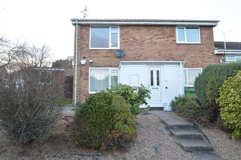 2 Bedrooms Flat for sale in Newtondale Close, Nottingham