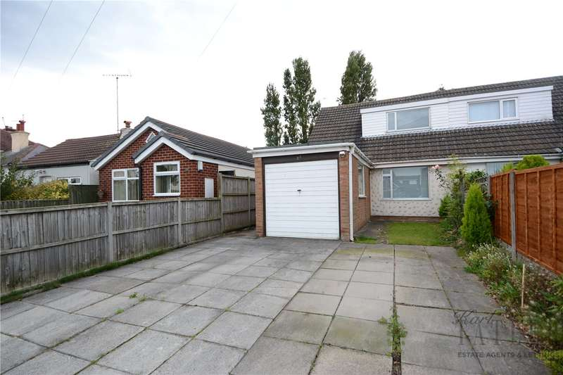 3 Bedrooms Semi Detached Bungalow for sale in Raby Drive, Moreton, Wirral