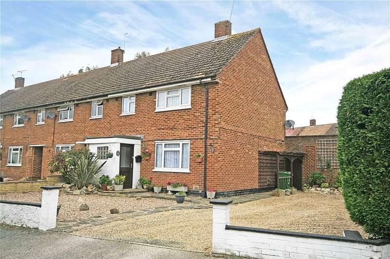 3 Bedrooms End Of Terrace House for sale in Catherine Close, Byfleet, West Byfleet, Surrey, KT14