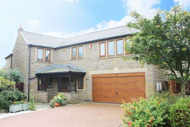 5 Bedrooms Detached House for sale in Nook Green, Tingley, Wakefield