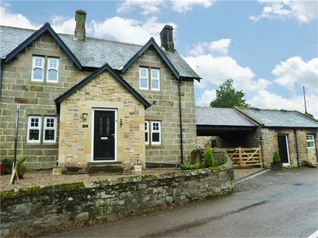 3 Bedrooms Cottage House for sale in Main Road, Chatton, Alnwick, Northumberland