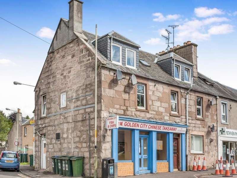 2 Bedrooms Flat for sale in Main Street, Methven, Perth, PH1