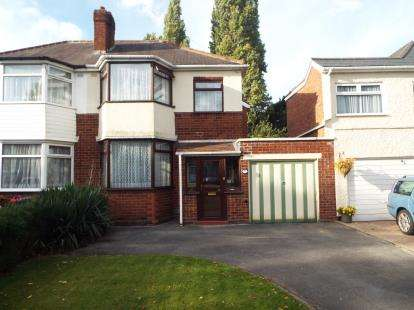 3 Bedrooms Semi Detached House for sale in Ulleries Road, Solihull, West Midlands