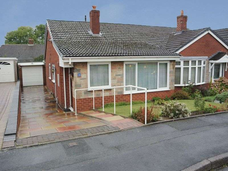 2 Bedrooms Semi Detached Bungalow for sale in Turnberry Drive, Trentham, Stoke-On-Trent, ST4 8EZ