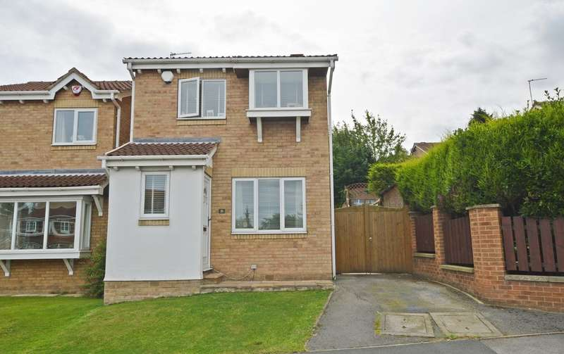 3 Bedrooms Detached House for sale in Durkar Rise, Crigglestone, Wakefield