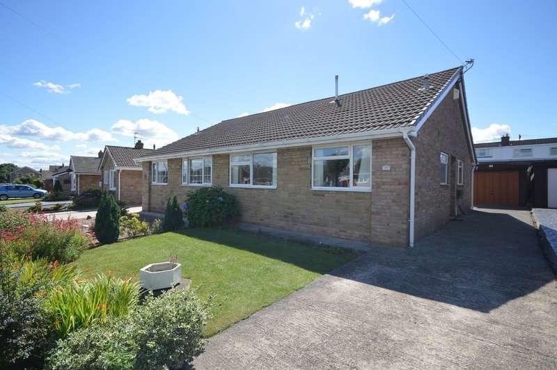 2 Bedrooms Semi Detached Bungalow for sale in Pentland Grove, Lupset Park, Wakefield