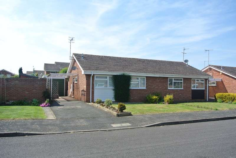 2 Bedrooms Semi Detached Bungalow for sale in Kempton Close, Evesham